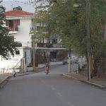 The main entrance is near the end of a non-tru road. There is secure street parking.