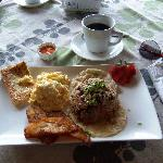 Tico breakfast