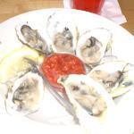 Yum Yum..oysters!