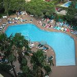 view of main pool from our room