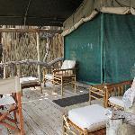 Tent Balcony Deck