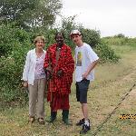 Masaii guard