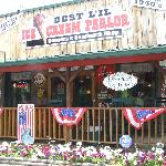 Front of Best 'Lil' Corner Ice Cream Parlor