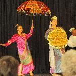 "One of the dances, the ""Singkil"""