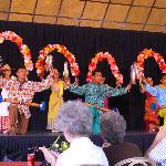 One of the performances of traditional Filipino dances