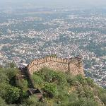 Alwar Fort View