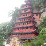 Shibaozhai, visit in the shore of the Yangtze River