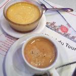 desserts and espresso