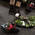 bargain for fresh veggies