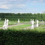 Garten mit Skuplturen