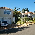 Gästehaus von Straßenseite