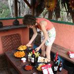 Lovely BQ dinner at Auriga Ecolodge