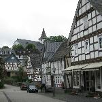 Near the hotel - view of Feudingen
