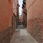 Rue du riad - entrée à droite