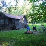 Gilbert Lake State Park Cabin 15