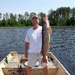 """Moose Trap Lake, 35"""", 12lbs"""