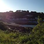 beautiful Rozel bay sunset