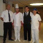 Erkan and Bar and Restaurant Staff