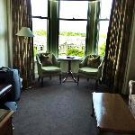 Sitting area of Junior Suite - Room 40