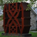 Robert Indiana Sculpture