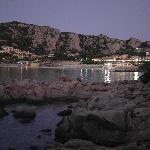 Baja Sardinia dal sentiero che porta dall'hotel alla spiaggia