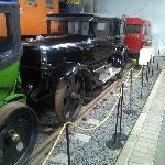 A railroad car