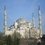 View from terrace - Blue Mosque