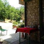 terrazza esterna - ingresso -