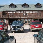 Chuckwagon where you eat Breakfast and eat at Dinner Show
