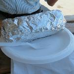 huge burrito