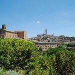 View from the Fort of Siena Centro