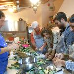 Our cooking class with Mimmo