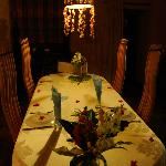 BENGUERRA COTTAGE DINING ROOM