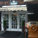 The main entrance at the Tavern by the Sea