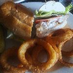 Bayou Catfish sandwich