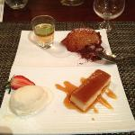 Dessert at Pata de Palo