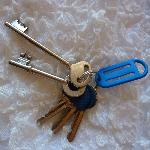 cool skeleton keys for the rooms
