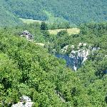 """The guesthouse from the """"Plitvice Lakes"""""""