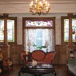 Beautiful Parlor with a warm and inviting atmosphere