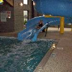Fun waterslide