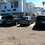 reserved parking spaces. you will not regret the small fee. beach parking is a challenge