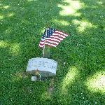 Lizzie's grave site