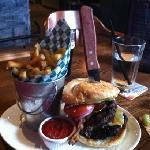 $18 Guinness burger!