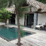View of Beach Villa #7