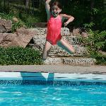 Lots of fun in the pool!