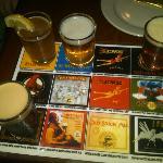 4 beer sampler