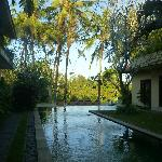 View from restaurant are to pool