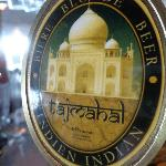 "The amazing Indian Beer ""Taj Mahal"""