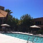 relaxing pool at Grand Vista