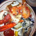 seafood plate --among the other plates